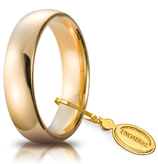 orologio fbc04 310c4 Fede comoda oro giallo UnoAErre FCU030GG 5 mm