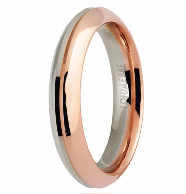 plus récent choisir authentique 60% pas cher Fede in oro bianco e rosa UnoAErre FAU290BR